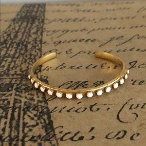 J. Crew Thin cuff bracelet